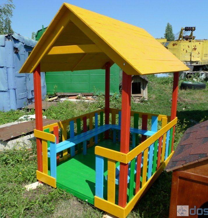 Детские сада беседки для детского сада своими руками 37