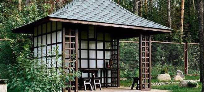 Беседка в японском стиле: варианты дизайна, идеи для дачи