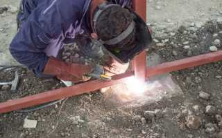 Как правильно сварить беседку из металла: поэтапная инструкция