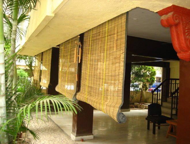 Шторы из бамбука рулонные