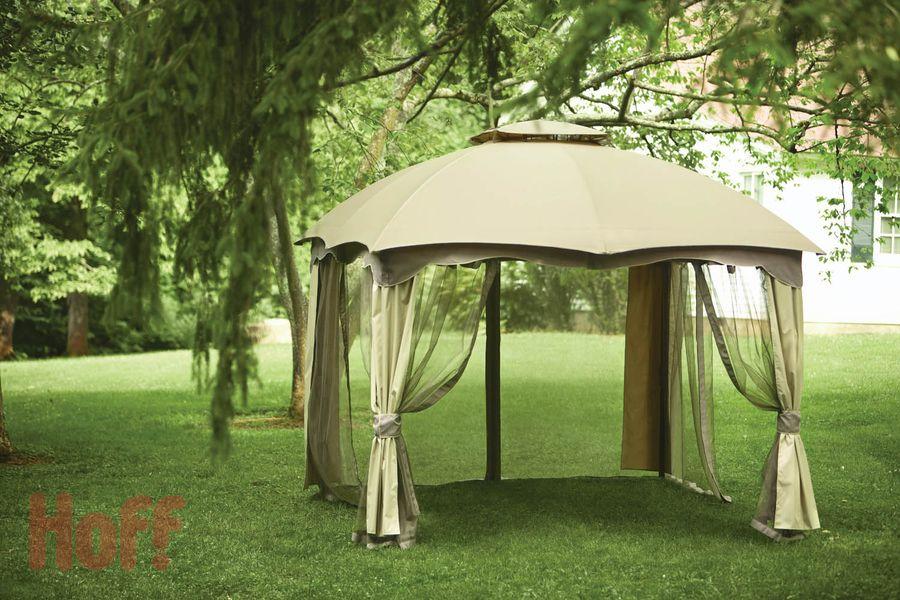 Купольная крыша шатра