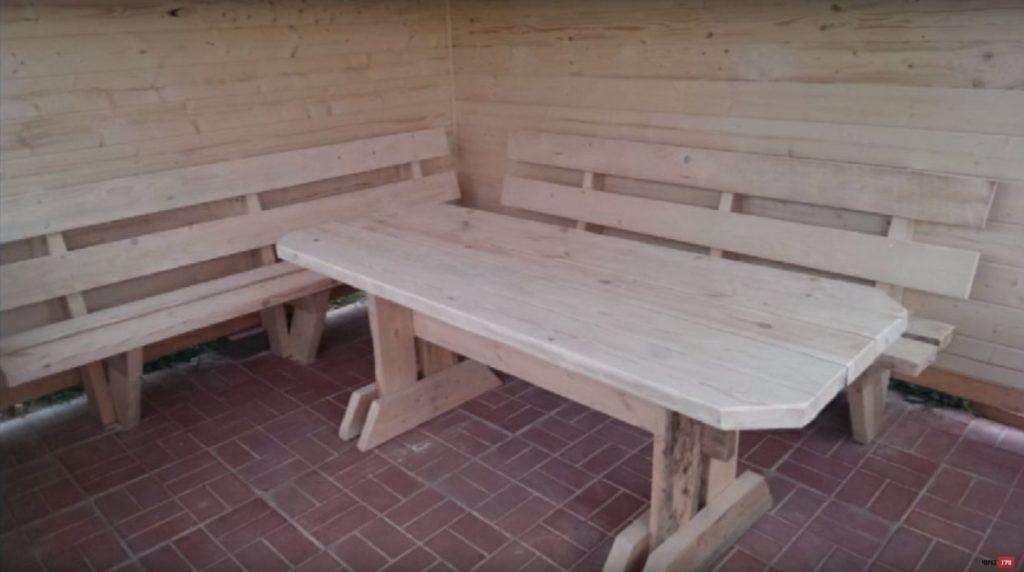 Готовый стол
