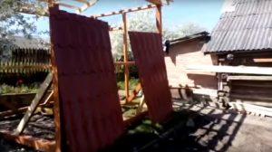Подготовка листов к укладке на крышу