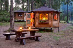 Финский домик снаружи