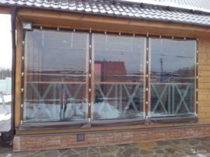 Остекление ПВХ окнами