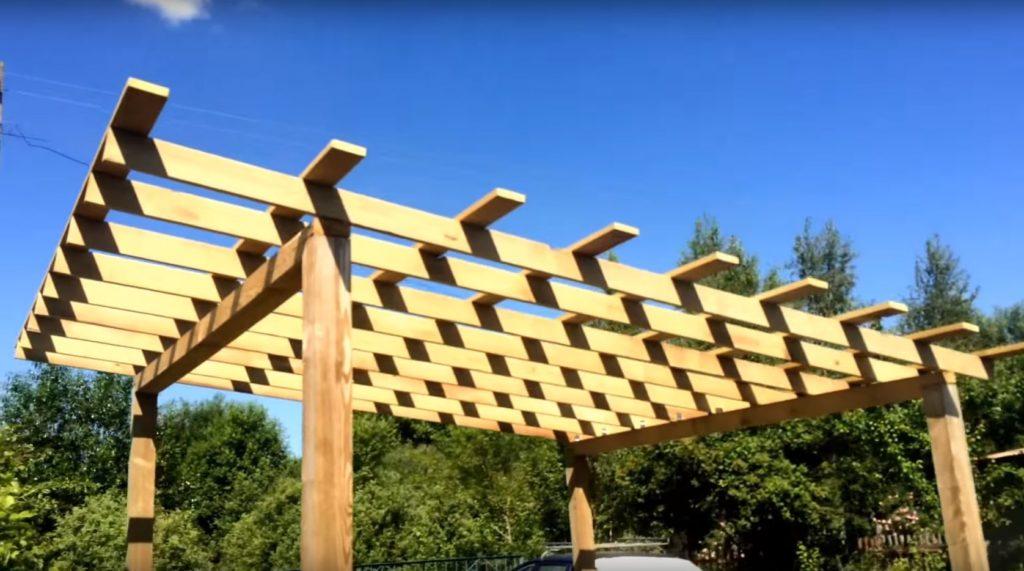 Беседка своими руками из дерева: пошаговая инструкция по постройке и идеи по обустройству (110 фото)
