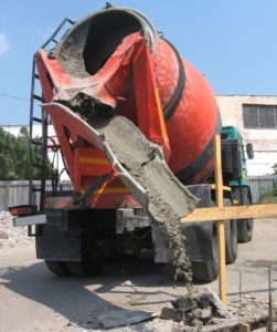 Покупной бетон в миксере