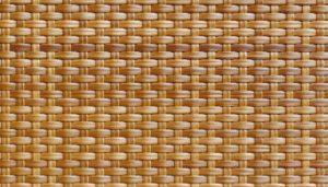 Классическое плетение из ротанга