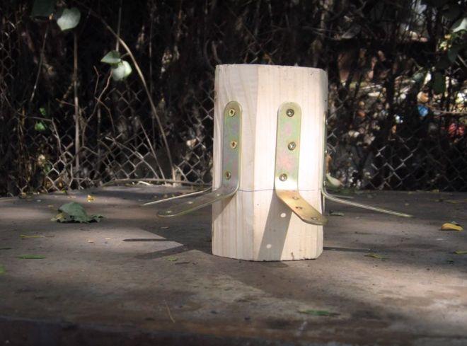 Шаг 6. Изготовление деревянного шпиля