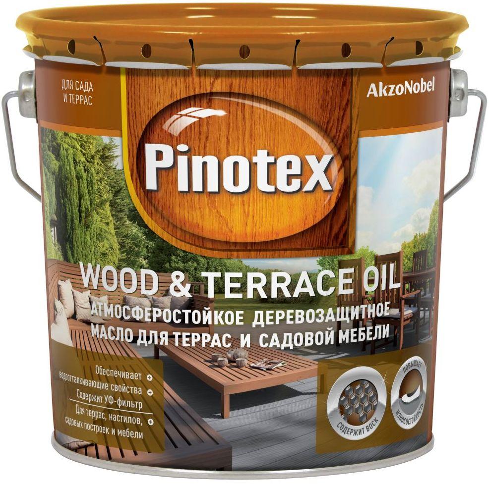 Террасное масло Пинотекс Wood & Terrace Oil
