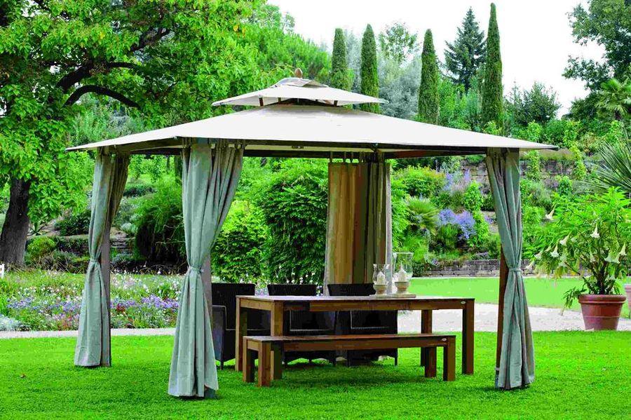 Садовый сборный шатёр