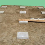 Фундамент из тротуарных плиток