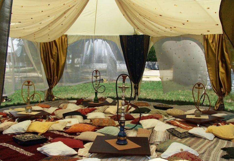 Кальянная в шатре