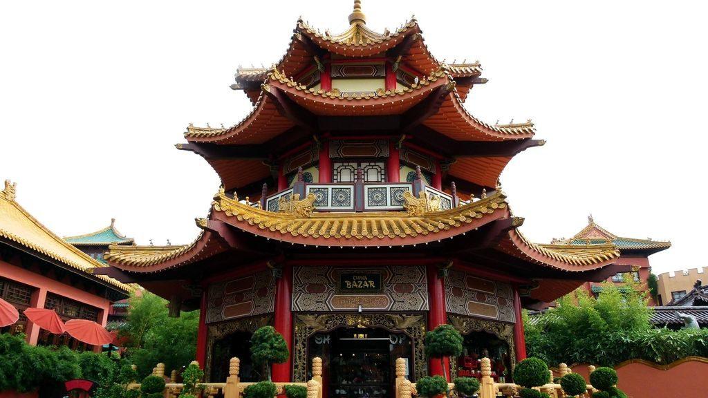 Величие китайской пагоды