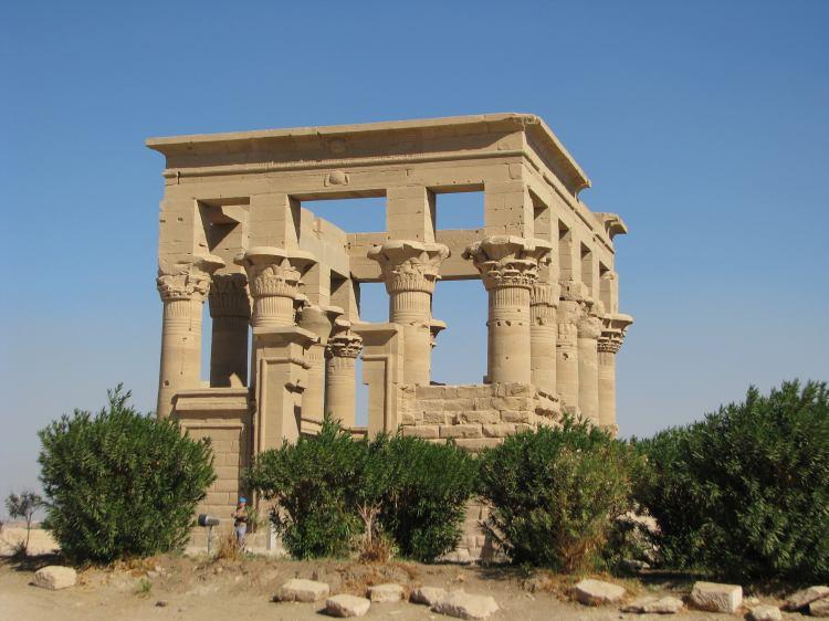 Древняя беседка Египта