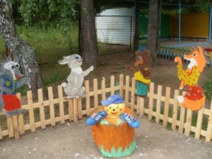 Фигуры Колобка и животных