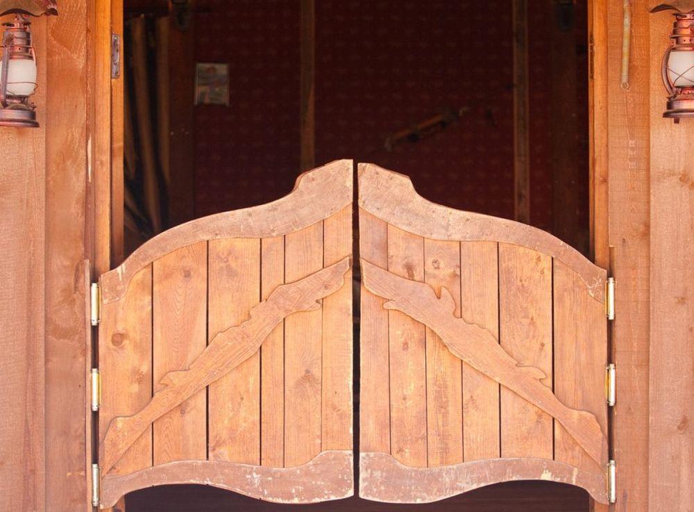 Ворота в беседку